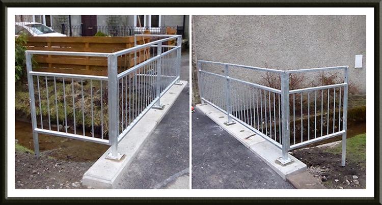 dam bridge repair railings
