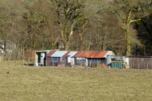 sheds at Stubholm