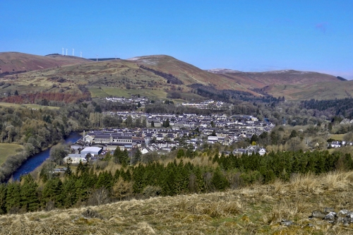 Liz's picture of Langholm