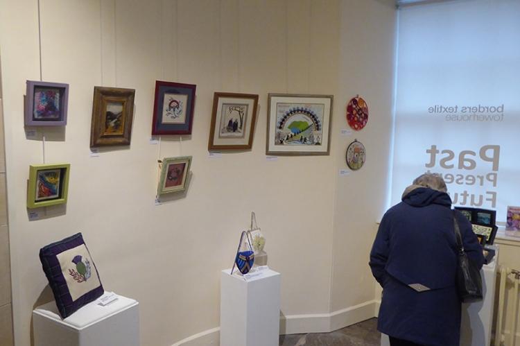 EG exhibition Hawick