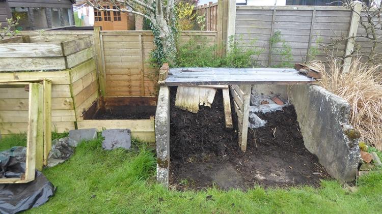 compost bin shifting