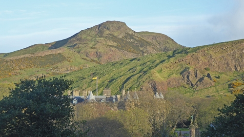 Arthurs Seat and Holyrood House