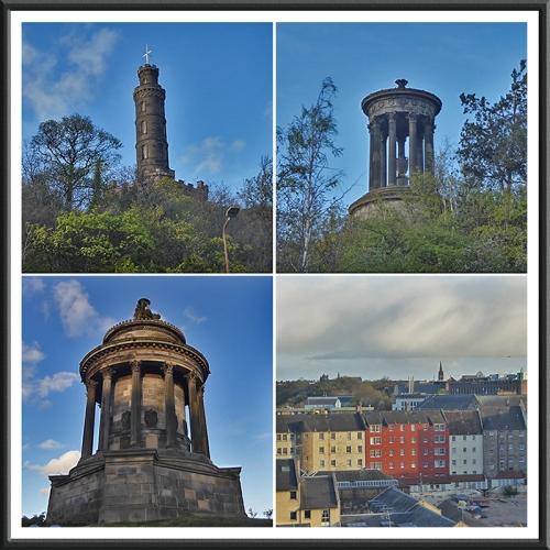 Views from Regent road Edinburgh