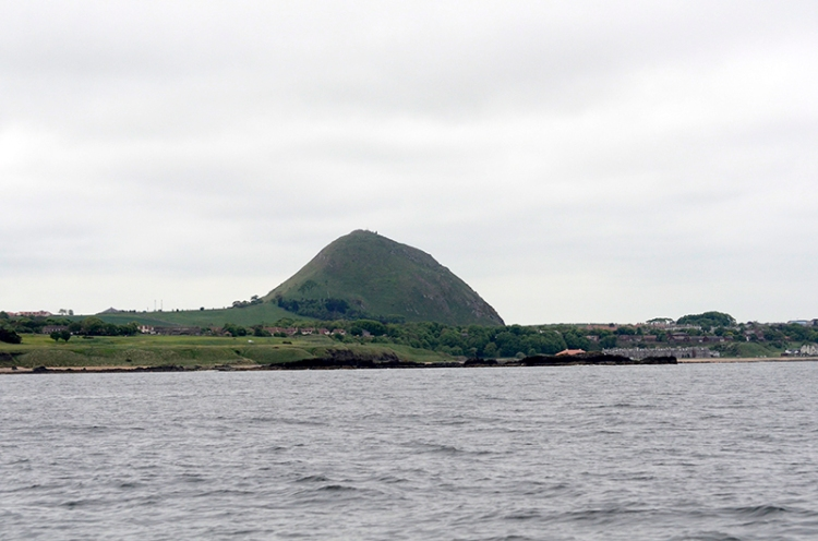 berwick law from the sea