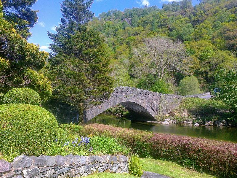 cafe garden at Grange.