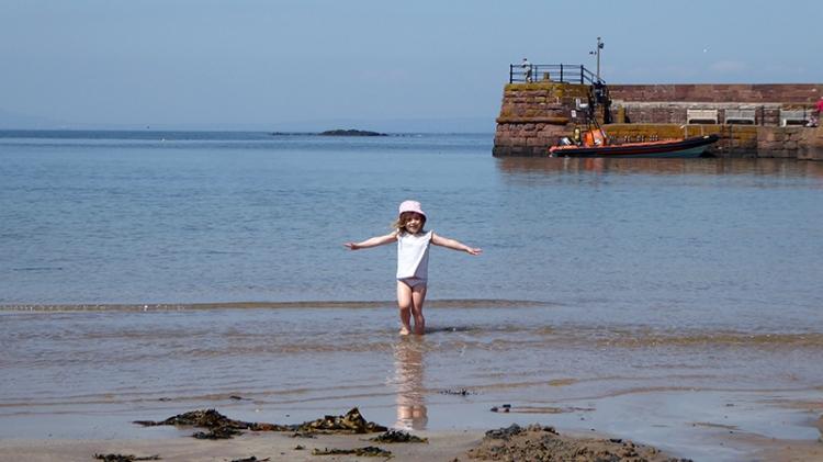 matilda at the seaside