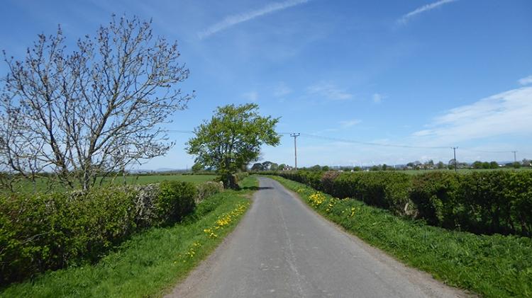 Cumbrian back road