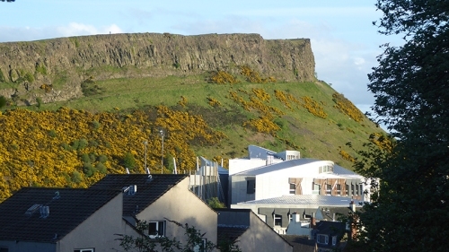 salisbury crag and parliament