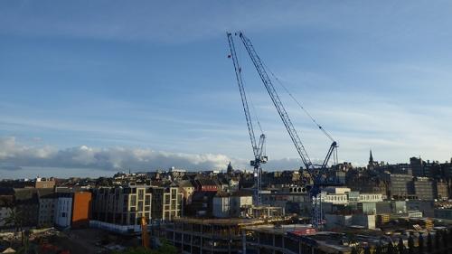 Edinburgh cranes