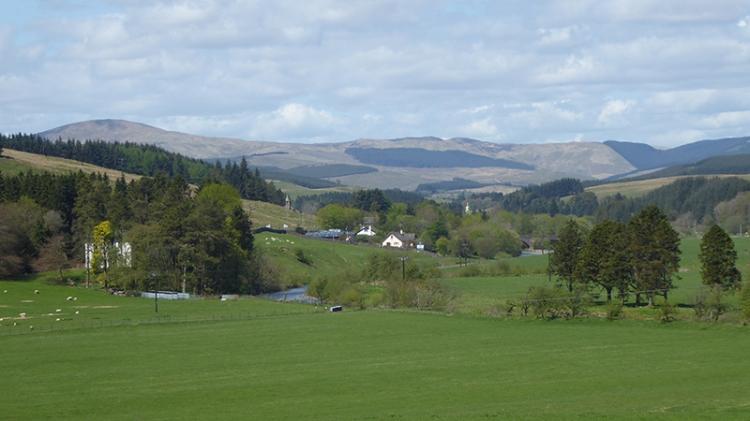 Upper esk valley