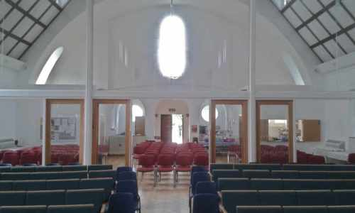 choir church interior