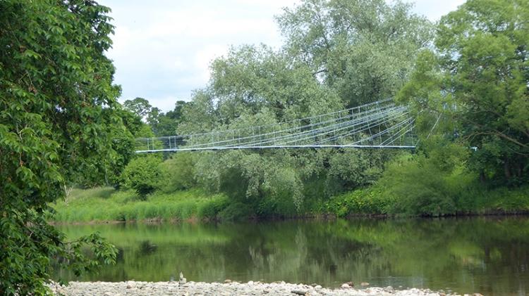 Kirkandrews on Esk bridge