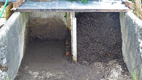 Compost Bins C and D
