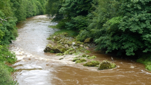 River esk at hollows