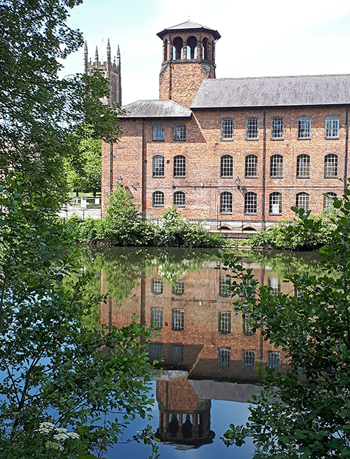 silk mill Derby