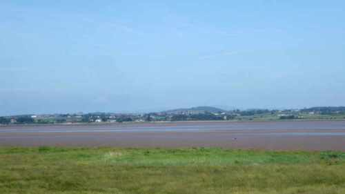 solway firth tide out