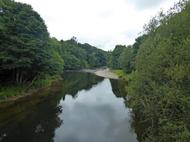 Annan Water at Hoddom