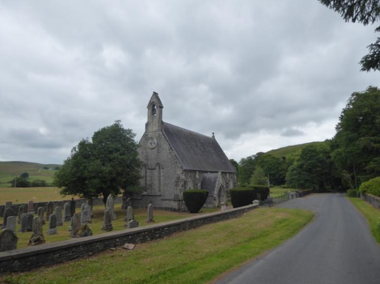 Carlenrig church