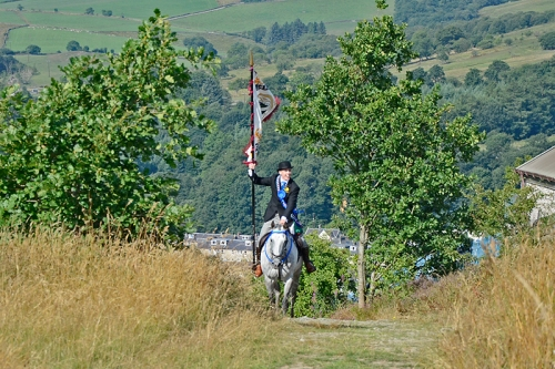 Common Riding 2018 crossing the Kirk Wynd 5