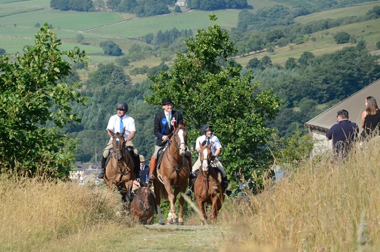 Common Riding 2018 crossing the Kirk Wynd 8