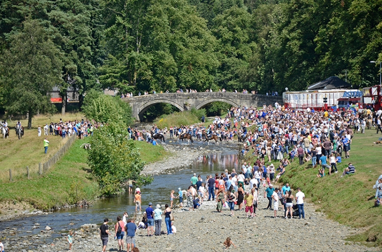 Common Riding 2018 crossing the water 8
