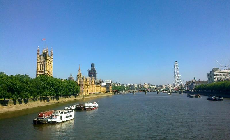 View from Lambeth Bridge