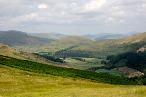 view of esk valley
