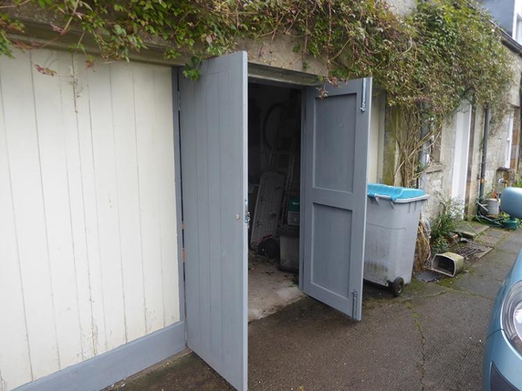 garage doors open