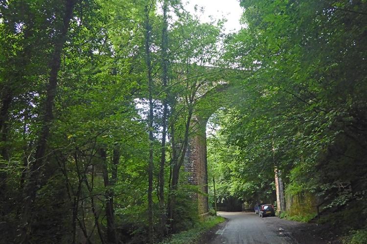 Gelt railway viaduct