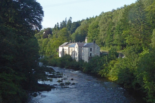 Langholm Distillery late august