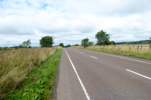 old A74 near Lockerbie