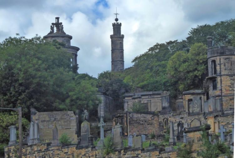 Old calton graveyard