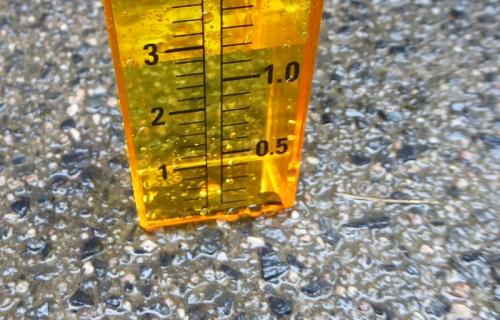rain gauge 1 cm