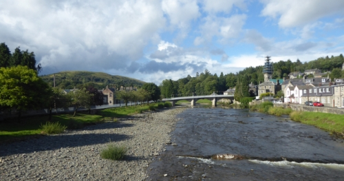 River Esk in august