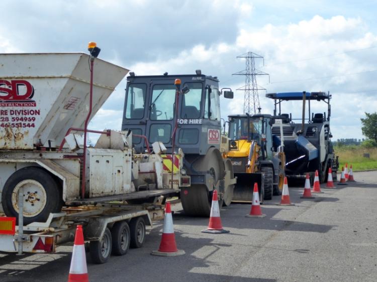 road menders vehicles