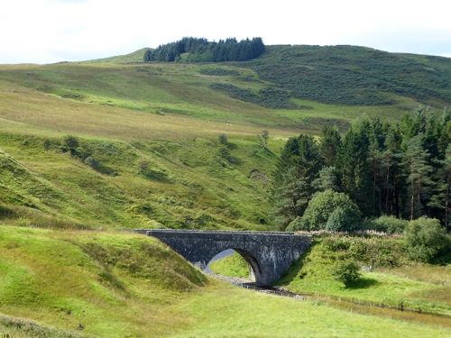 Black esk bridge Tanlawhill