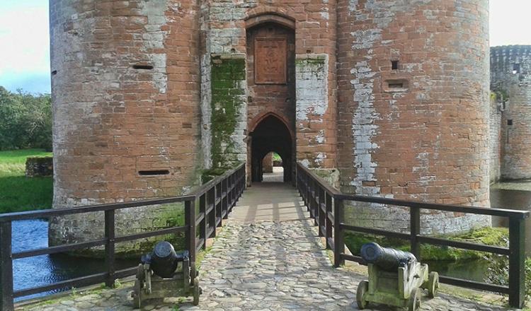 caerlaverock entrance