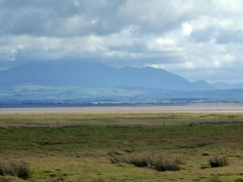 caerlaverock view across solway