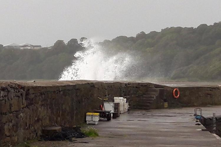 Fife stormy weather