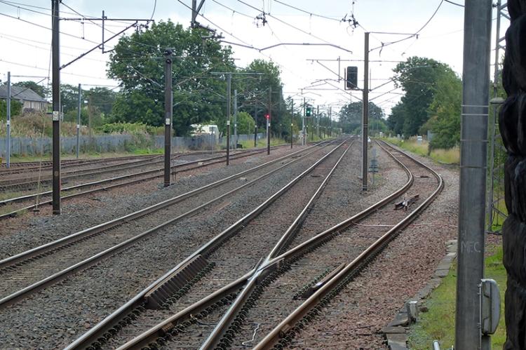 Lockerbie railway geometry