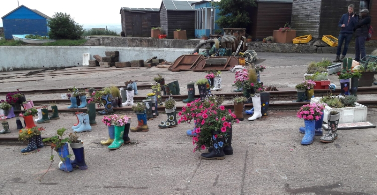 Welly Boot garden