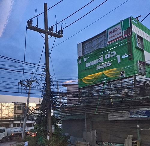 Wiring in Southern Phuket