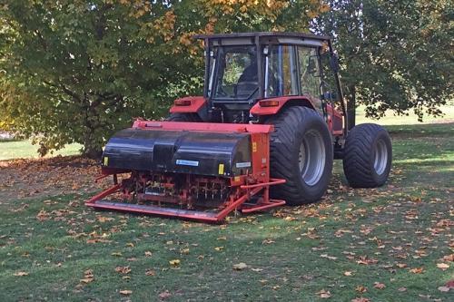 big lawn machine