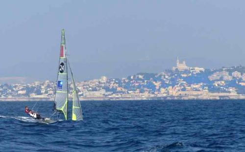 Marseille sailing