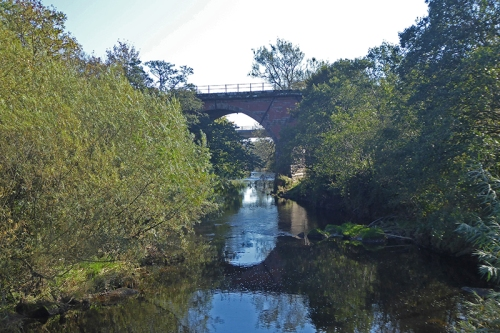 railway bridge at Rigg