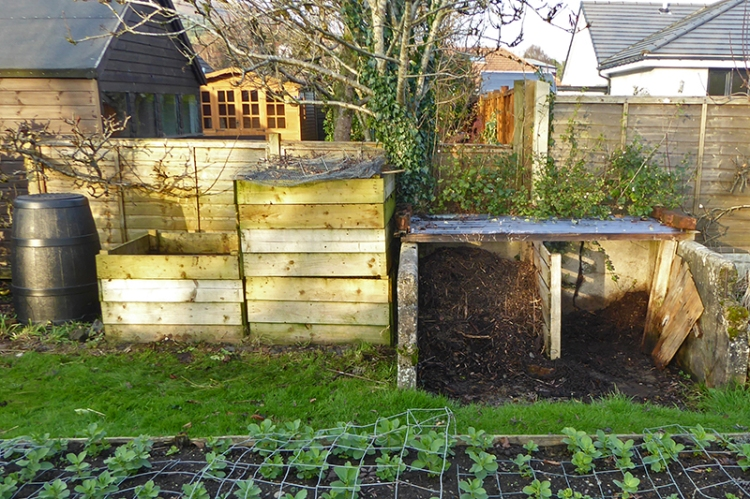 compost bins a to d