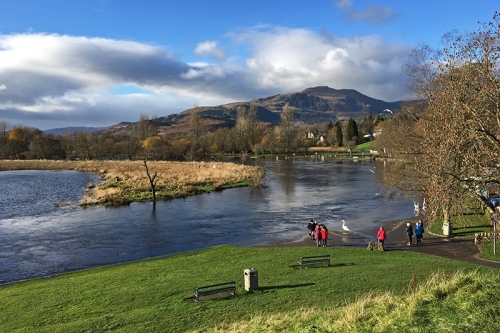 floods at callander