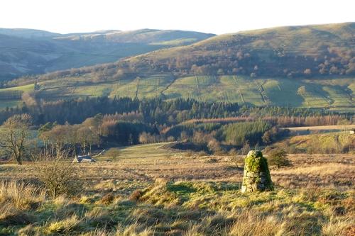 cairn on Birnie Braes