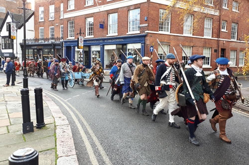 derby marchers