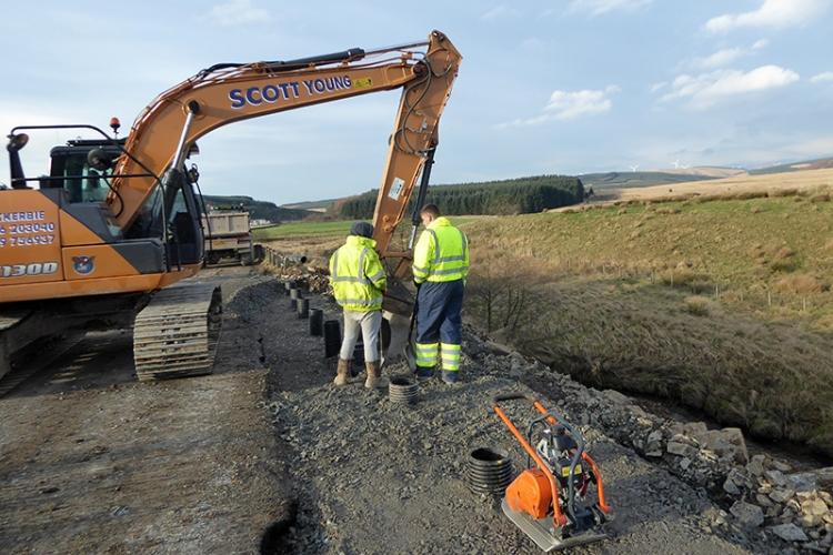 mending the Lockerbie road 1